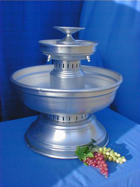 Aluminum Champagne Fountain Image