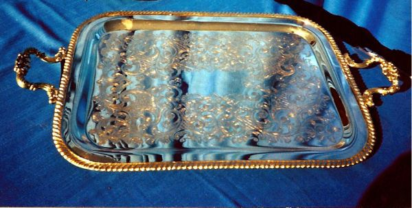 Trays - Silver Rectangular Image