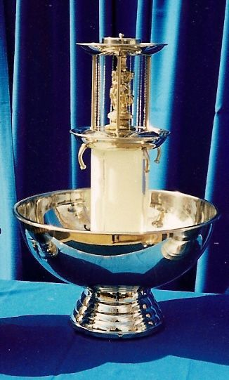 Stainless Champagne Fountain Image