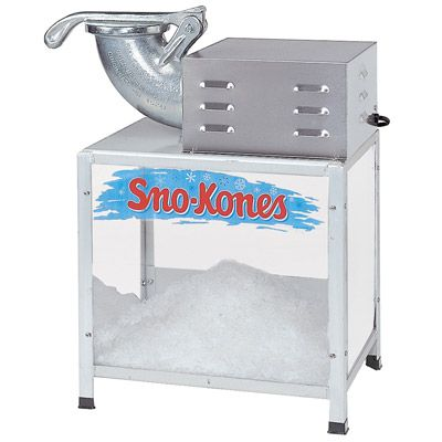 Snow Cone Machine Image