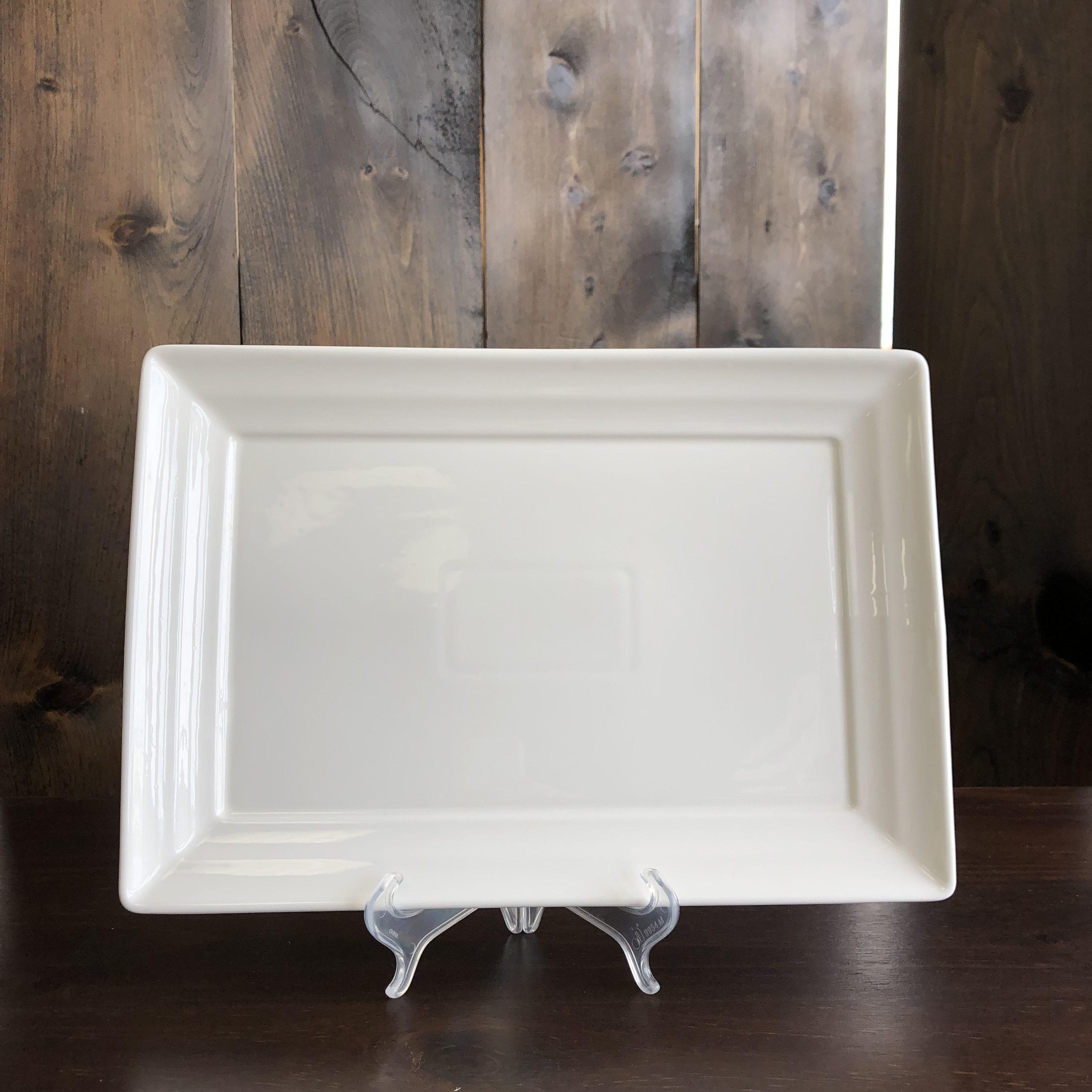 Porcelain Platter - Rectangular 16 Image