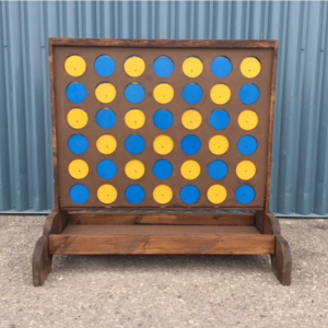 Connect 4 Lawn Game Image