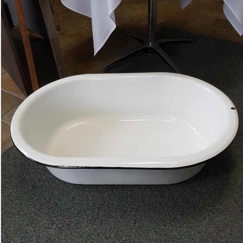 Enamel Drink Tub Image
