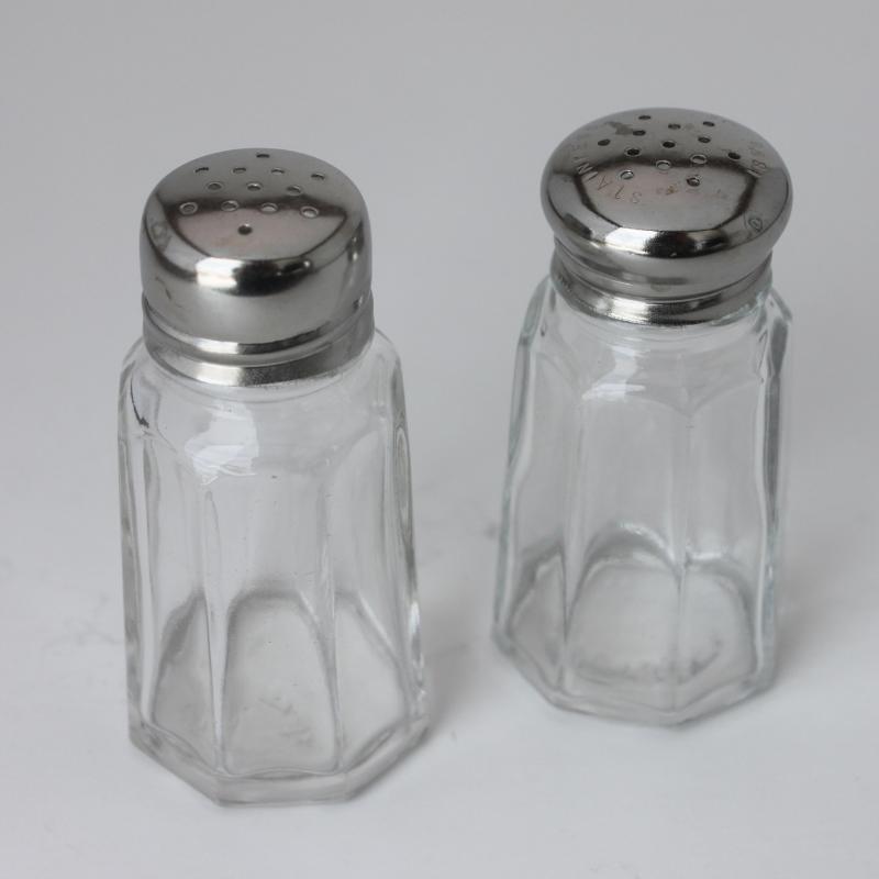 Salt & Pepper Set - Glass Image