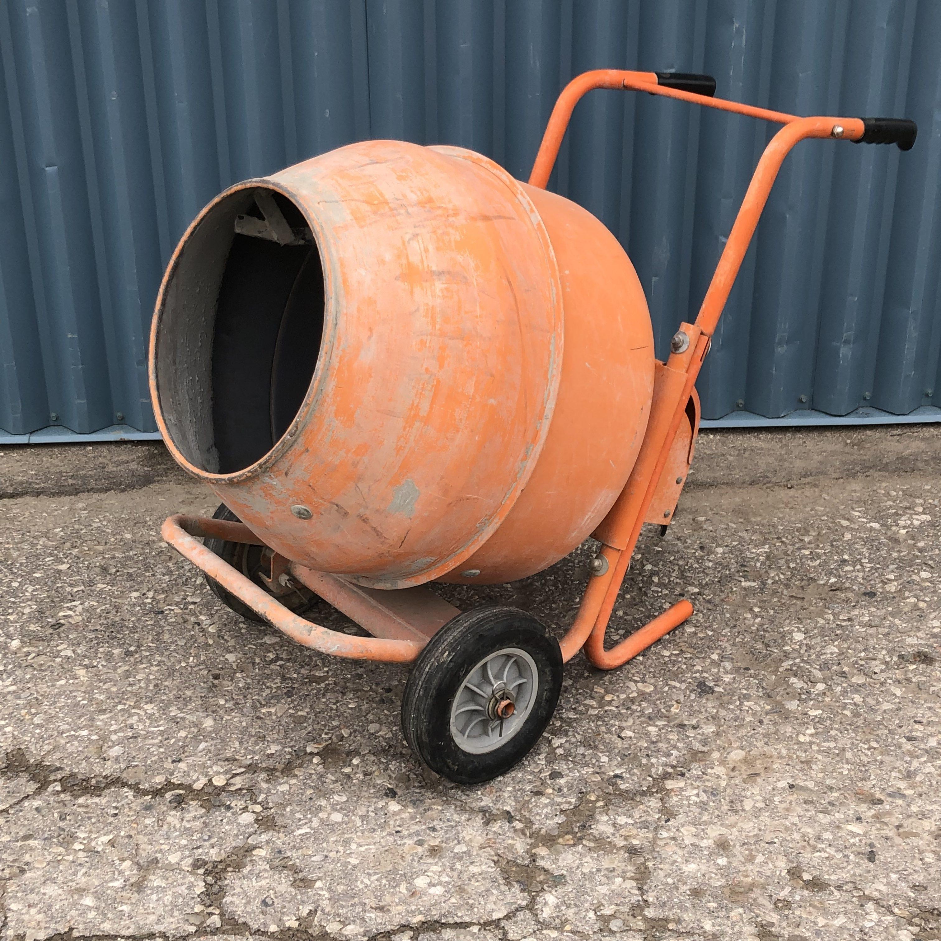 Cement Mixer Wheelbarrow Image
