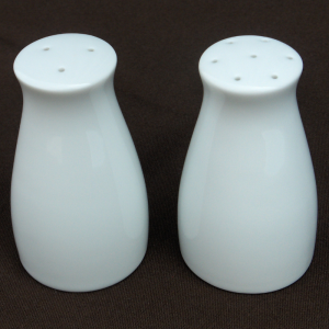 Salt & Pepper Set - White Image