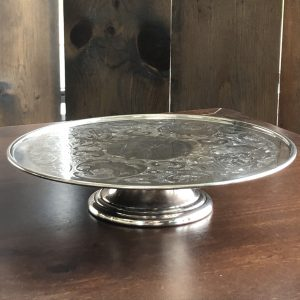 Cake Plate - Silver Image