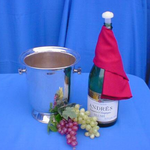 Champagne Bucket - Silver Image