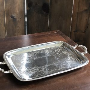 Tray - Silver Rectangular Image