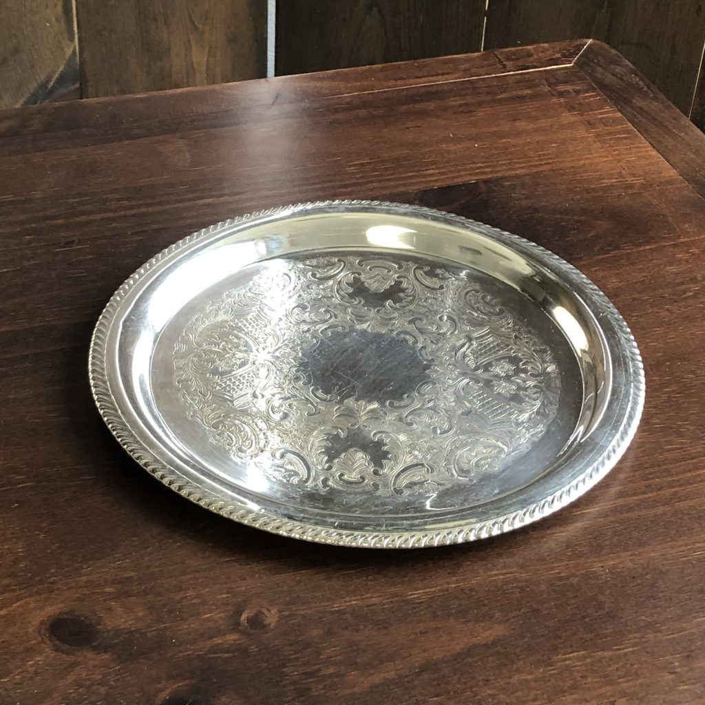 Tray - Silver Round Image
