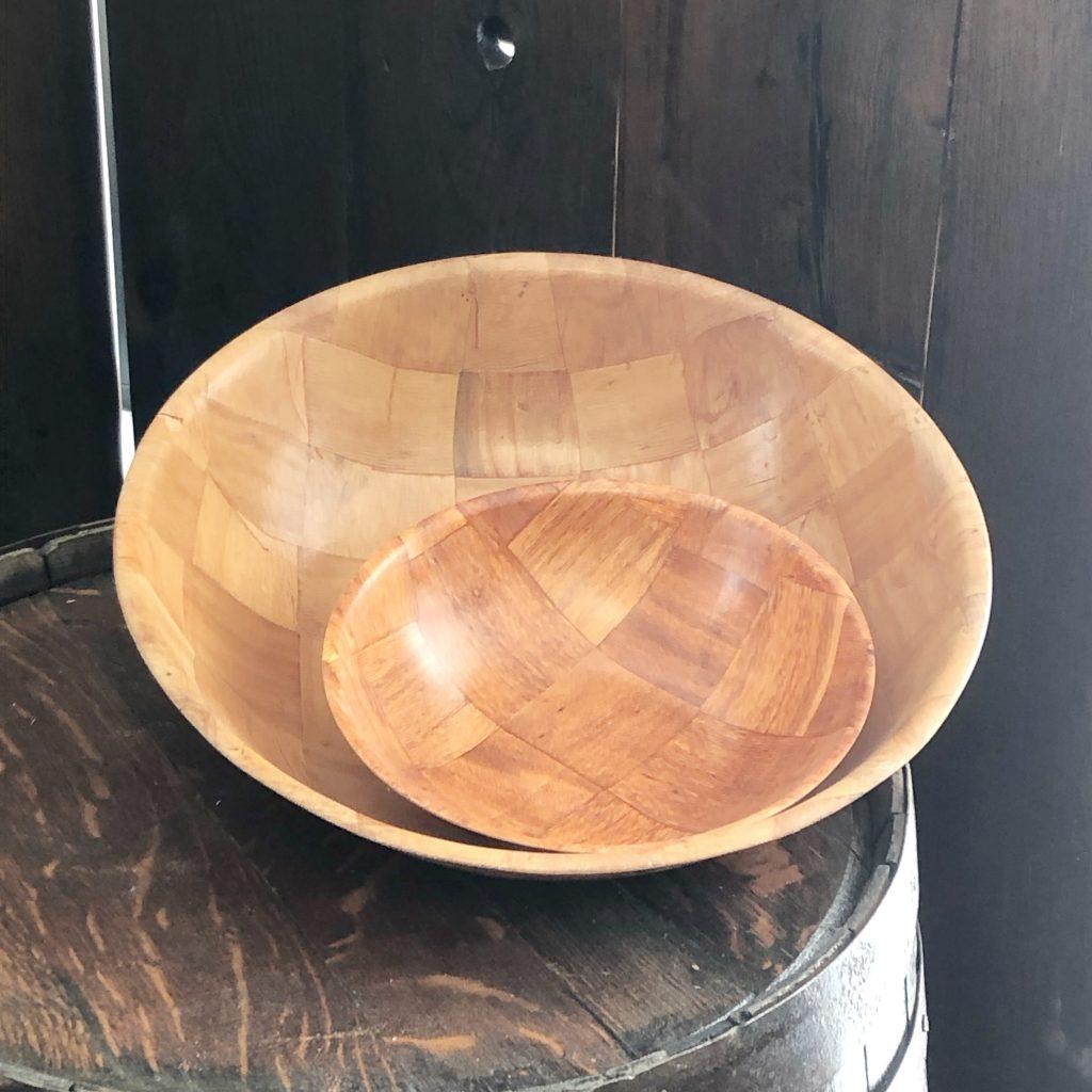 Wooden Salad Bowls Image