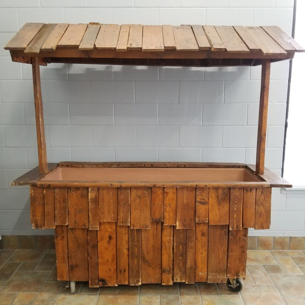 Rustic Drink Tub Image