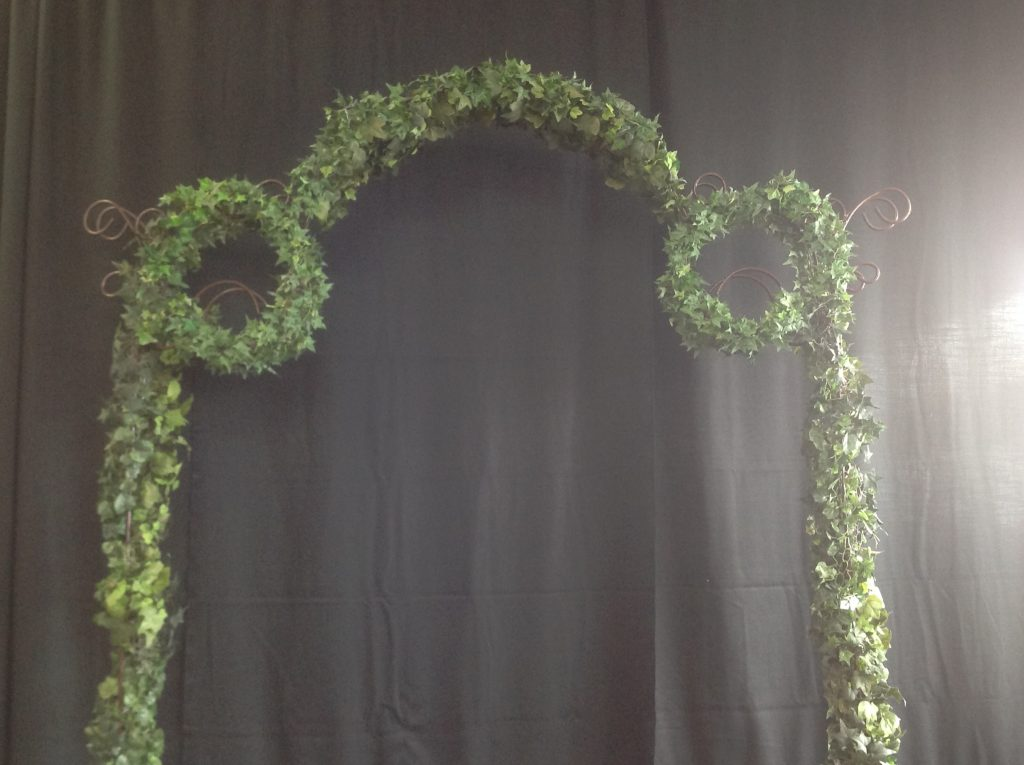 Ivy Covered Wedding Arch Image