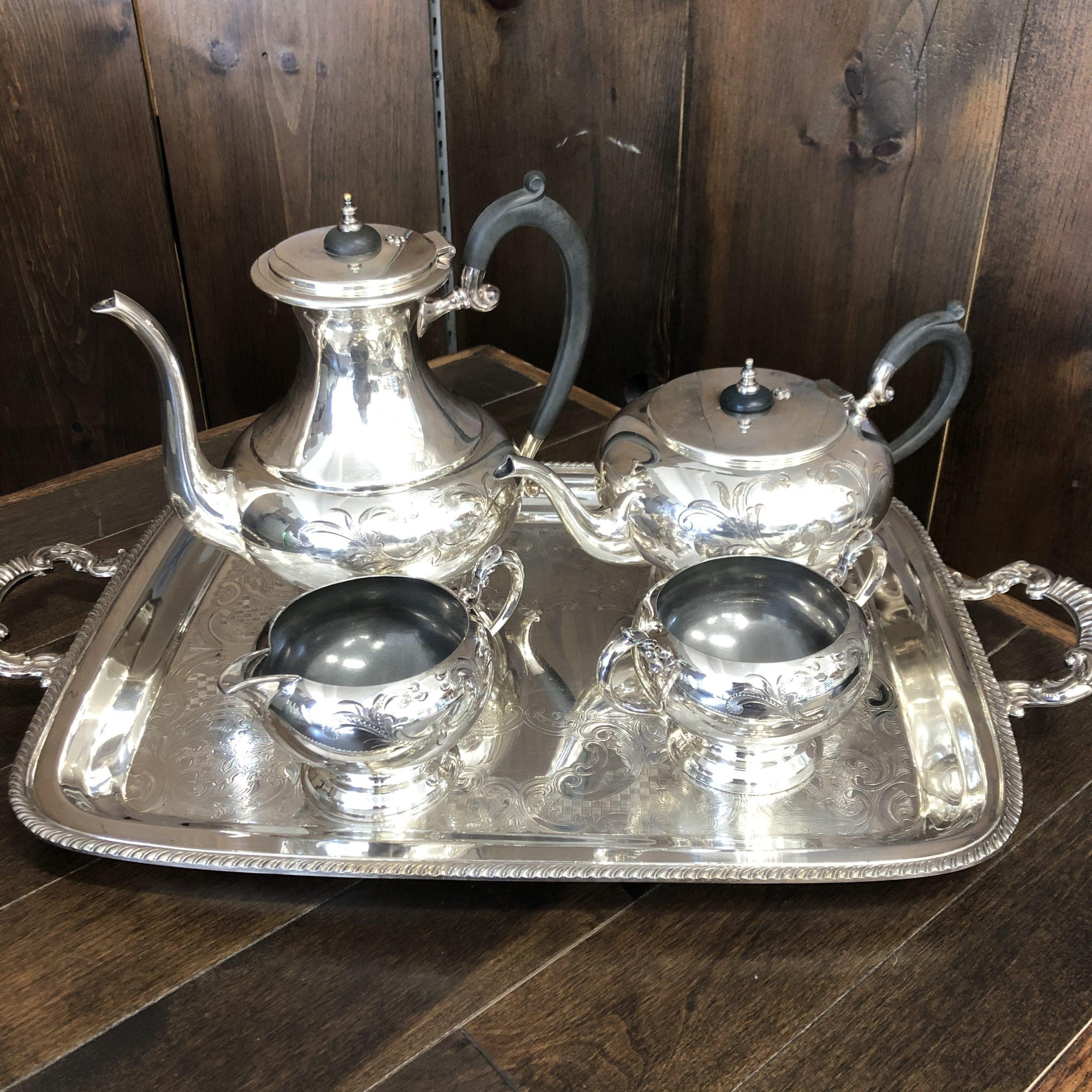 Silver Tea Service Image