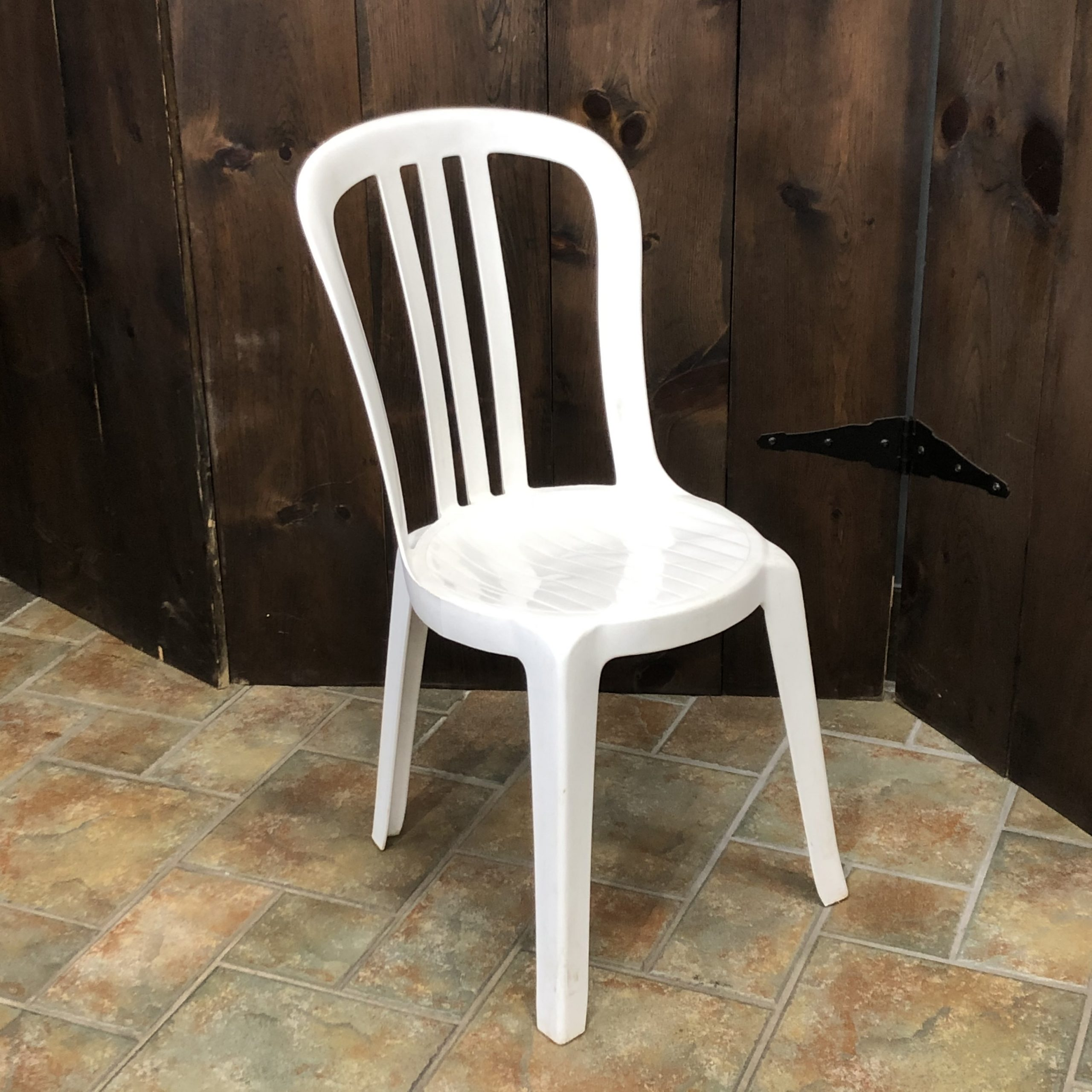 White Miami Bistro Chairs Image