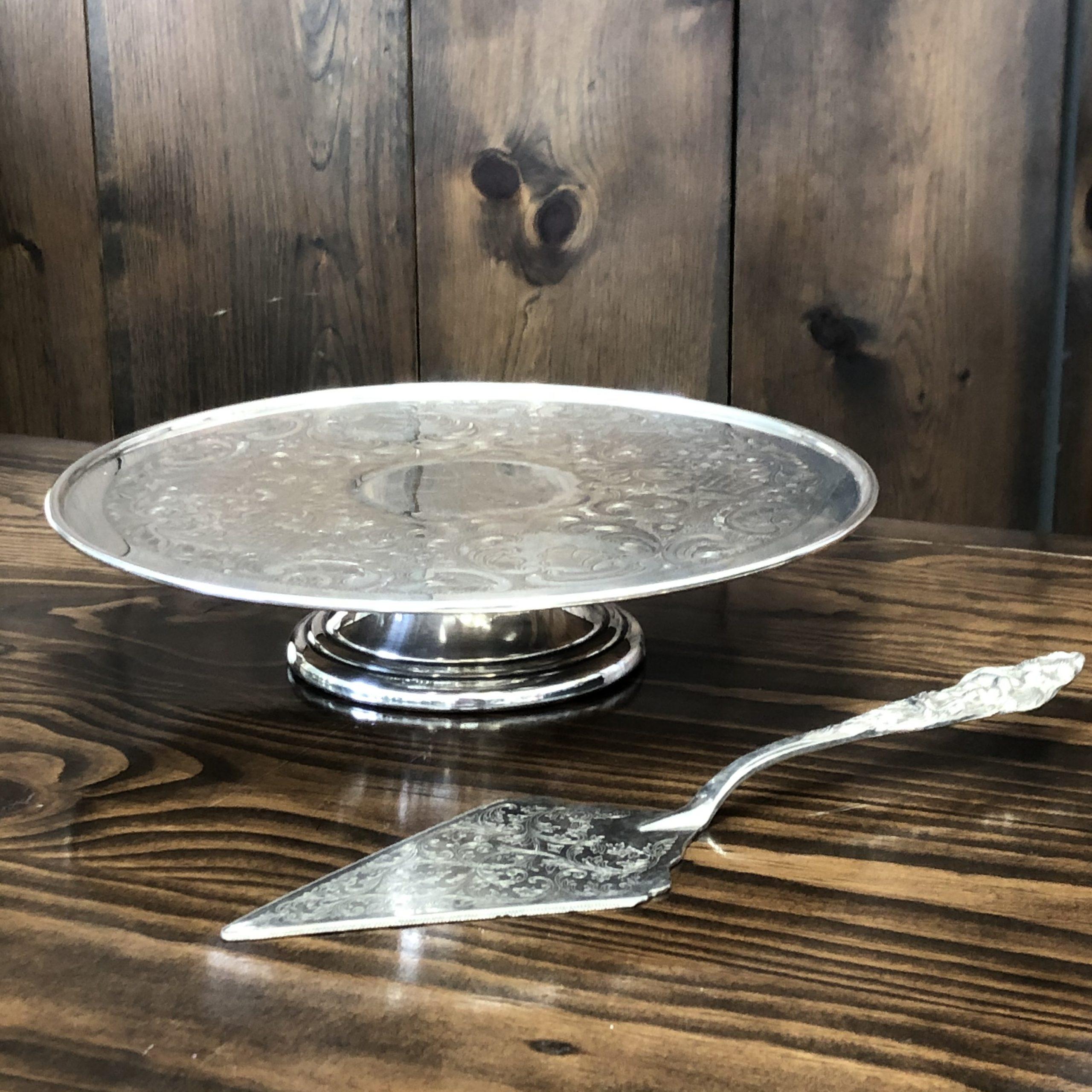 Cake Plate & Server Image